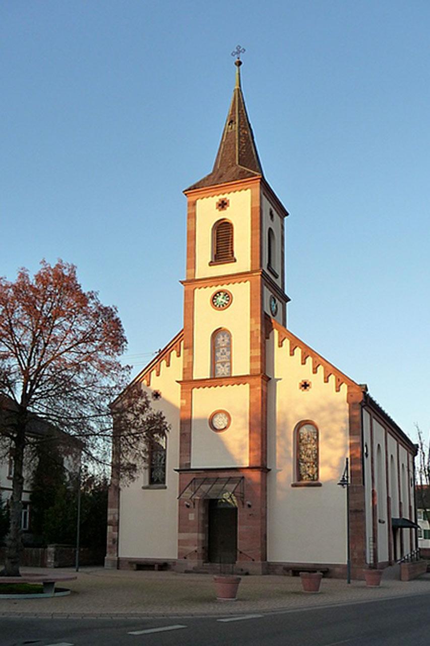 Kirche in Schutterzell